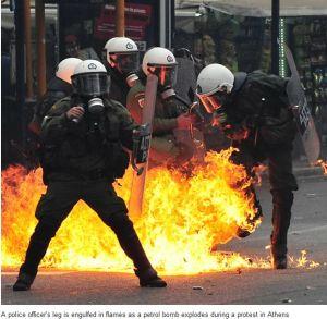 cops fire